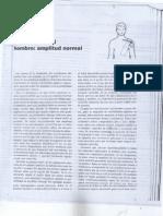 Capítulo 10 Cyriax- Exploración del hombro, amplitud normal