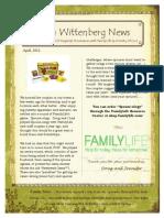 April Prayer Letter 2013 PDF