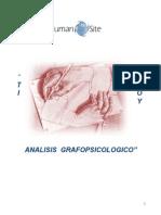 Curso Estudio y Analisis Psicografologico