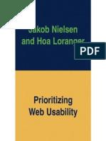 Prioritizing Web Usability