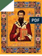 Liturgy of St. Basil (Elizabethan English) - Byz. notation