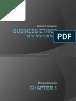 Business Ethics Chap1