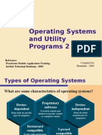 Operating Systems and Utility Programs 2
