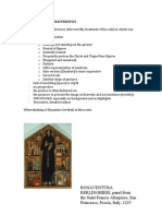 Byzantine Art Characteristics