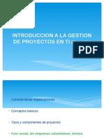 Ciclo de Vida de Los Proyectos Sesion II (a)