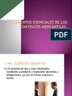 ELEMENTOS ESENCIALES DE LOS CONTRATOS MERCANTILES.pptx