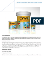 Envi Latex Wall Paint2