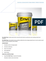 Envi Wall Putty 2