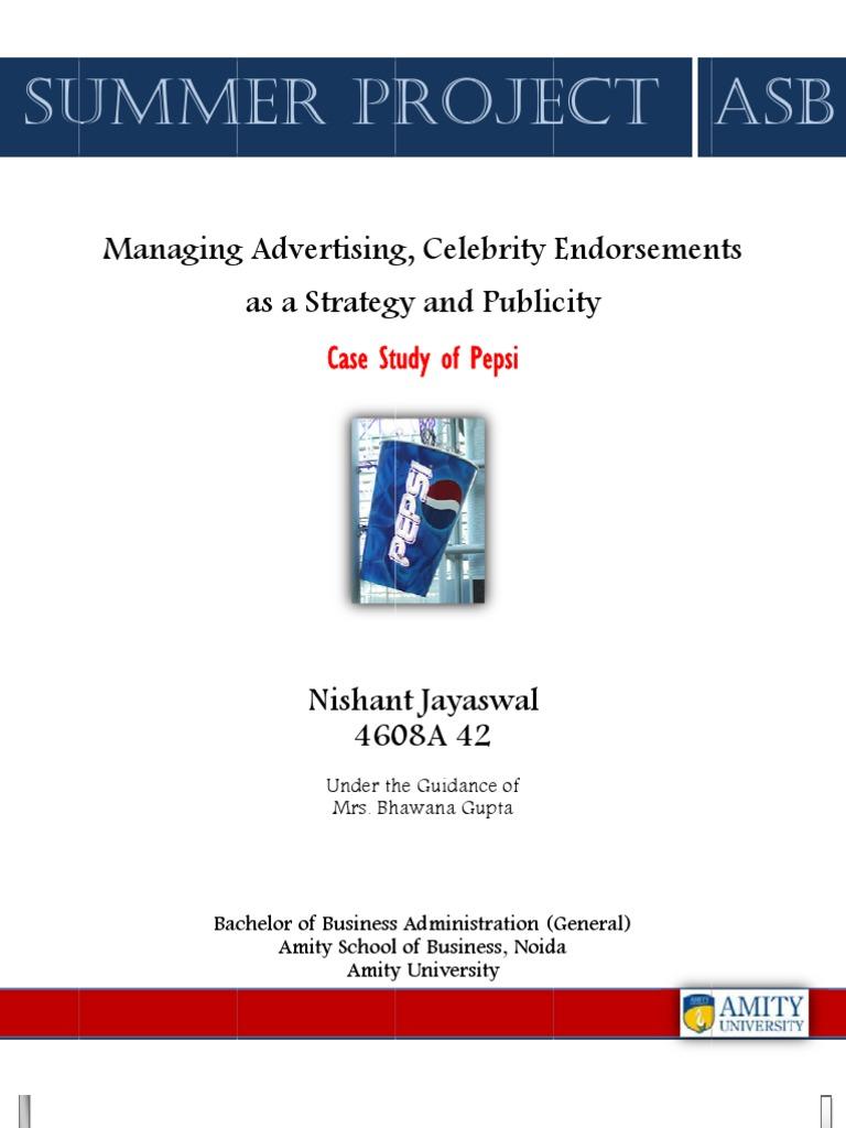 impact of celebrity endorsement on consumer Full-text paper (pdf): impact of celebrity endorsement on consumer buying behavior.