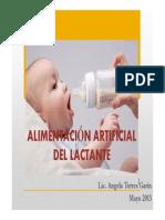 Formulas Infantiles