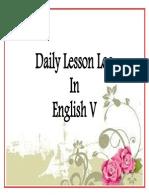 Daily Lesson Log Design