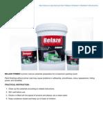 Belazo Primer Alkali Sealer