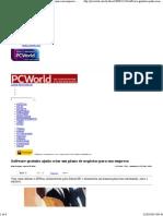 Software gratuito ajuda criar um plano de negócios para sua empresa - PC WORLD