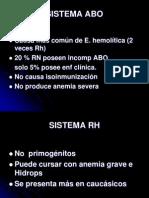 Isoimnunizacion Rh