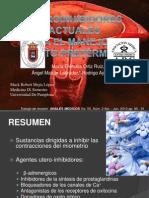 Uteroinhibidores Actuales Para El Manejo de PP