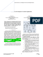 Selected 1 p 1 Research on Development of Android Applications