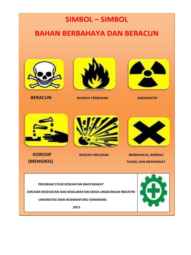 Simbol Simbol Bahaya