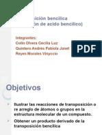 P.11 Transposicion Bencilica