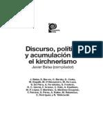 Discurso y Logicas Politicas en Clave K Martin Retamozo