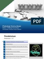 UT #1 Psikologi Komunikasi.ppt