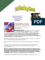 8 august newsletter 2012