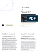 Booklet Stricken and Stand Up
