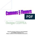 George Cziffra Cannons and Flowers