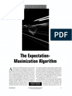 The Expectation-maximization Algorithm