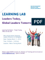 learning lab march 2014 flyer