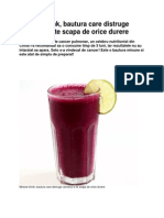 Miracle Drink - bautura care distruge cancerul