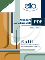Standard italiani per la cura dell'obesità 2013