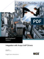 Avaya VoIP Drivers Integration