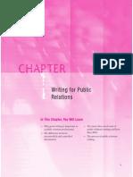 Writing for PR