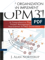 OPM3 a Comprehensive Playbook for PMP