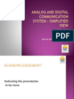 1 Analog and Digital Communication Sys Simplified View