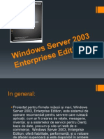 Windows Server 2003 Enterpriese Edition