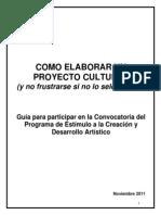 Manual Como Elaborar Un Proyecto Cultural Pecda