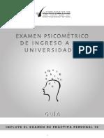 Guía Examen Psicométrico