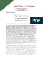 A Psychological Laboratory