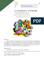 CompetenciaMatematica actividades