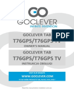 Manual T76GPS T76GPSTV en Pl