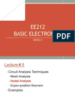 Lecture # 6 Nodal Analysis