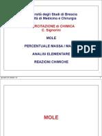 Esercitazione 1 Mole-1