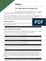 Installing Apache Debian Lenny