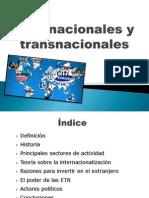 Multinacionales y Transnacionales