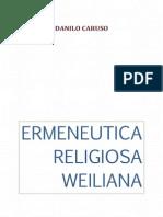 Ermeneutica religiosa weiliana