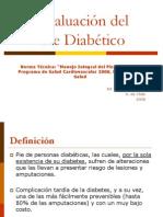 Evaluacin Pie Diabtico