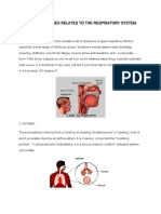 Various Diseases Related to the Respiratory System