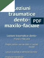 Leziuni traumatice dento-