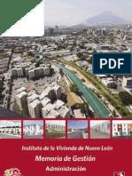 Instituto de la Vivienda de Nuevo León | Memoria de Gestión Administración 2003-2009